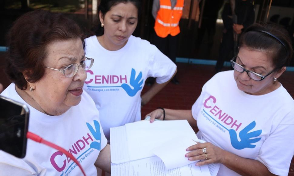CIDH insta a la dictadura a devolver personerías jurídicas a ONG