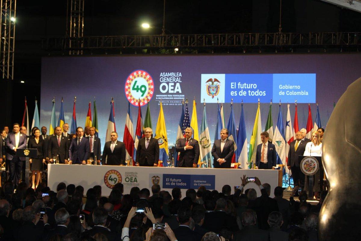 20 países de la OEA aprobaron resolución contundente contra la dictadura de Ortega