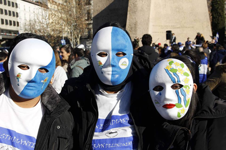 Nicaragua rompe récord histórico de solicitantes de asilo en España. Foto: Cortesía/SOS Nicaragua Madrid