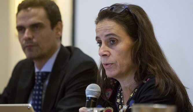 """Antonia Urrejola: """"Aún quedan 88 personas privadas arbitrariamente"""". Foto: Cortesía"""