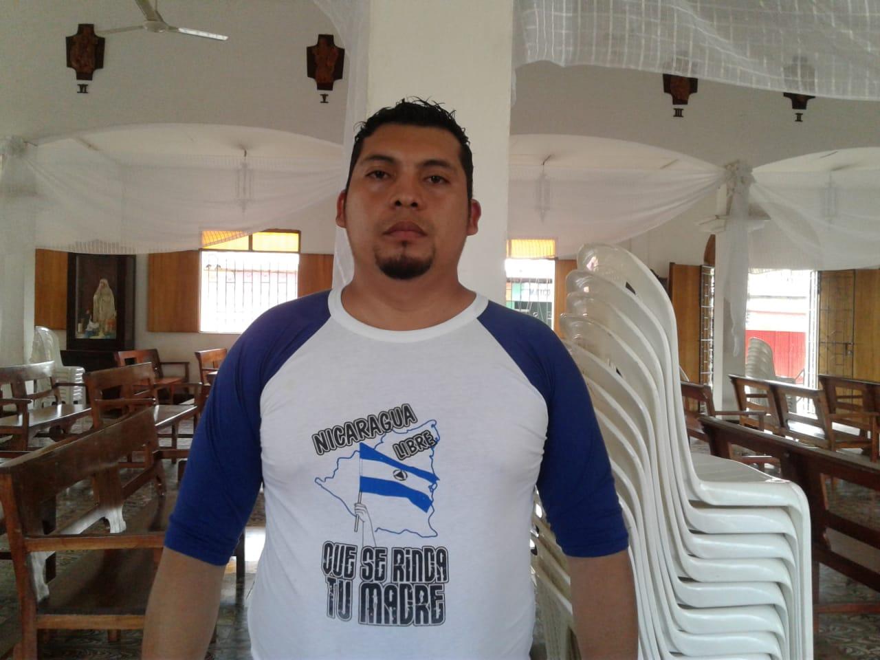 Excarcelado político David Durán. Foto: Noel Pérez M./ Artículo 66