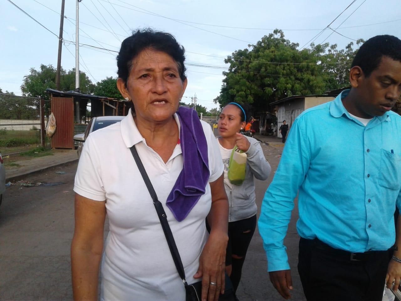 Amanda Gómez, madre del preso político Carlos Vanega Gómez. Foto: Noel Miranda