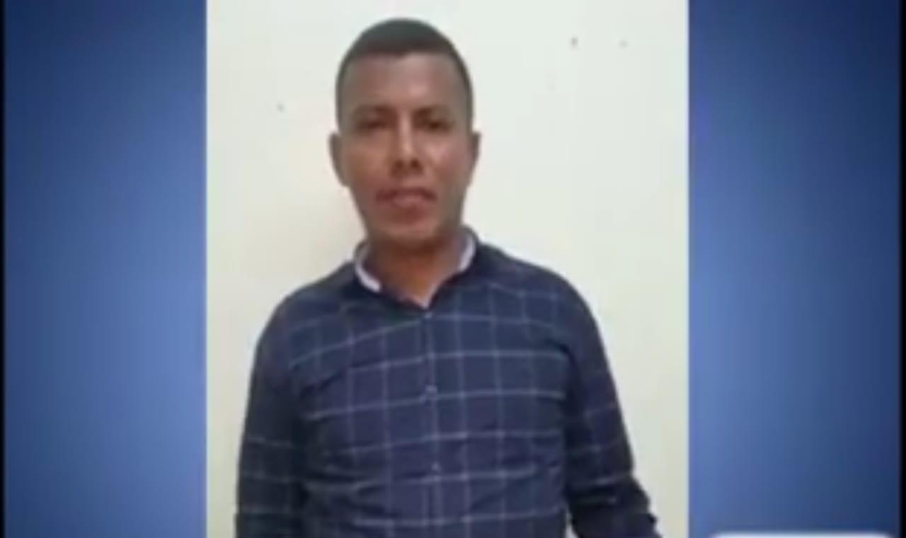 Teniente antinarcótico Edwin Hernández Figueroa, secuestrado por la dictadura.