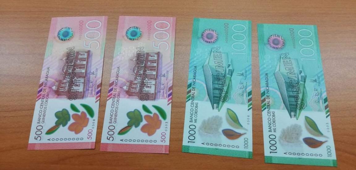 BCN anuncia circulación de nuevos billetes luego de sacar más de 2 mil millones de córdobas en abril. Foto: Cortesía