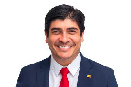 Presidente de Costa Rica se pronuncia tras la liberación de Lucía Pineda. Foto: Cortesía