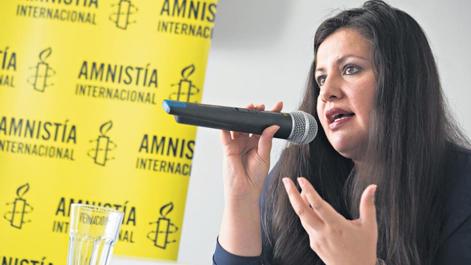 Erika Guevara-Rosas, directora para las Américas de Amnistía Internacional.