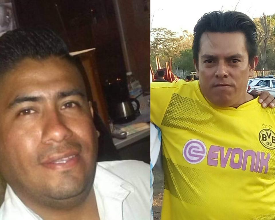Imer Ortiz Canelo y Jener López Nicaragua, ambos detenidos en Catarina, Carazo.