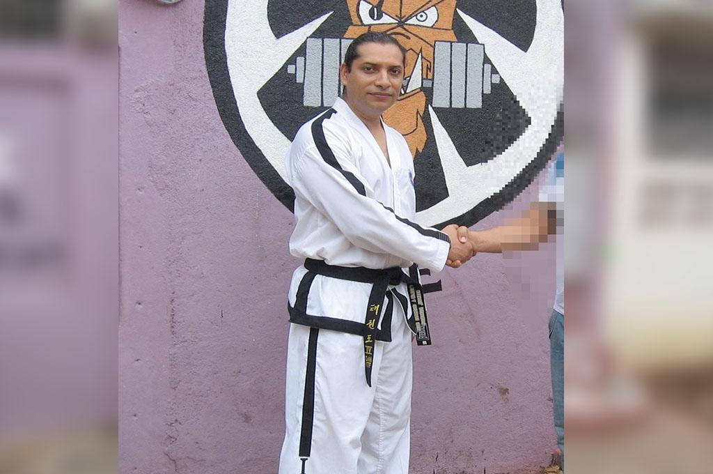 El criminal amnistiado por la dictadura también fue instructor de defensa personal.