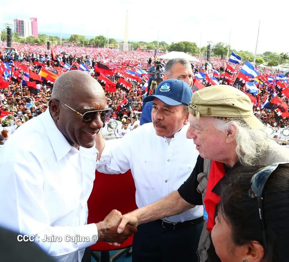 Vicepresidenta de Venezuela Delcy Rodríguez confiesa que Rusia está detrás de las dictaduras de Maduro y Ortega. Foto: Jairo Cajina