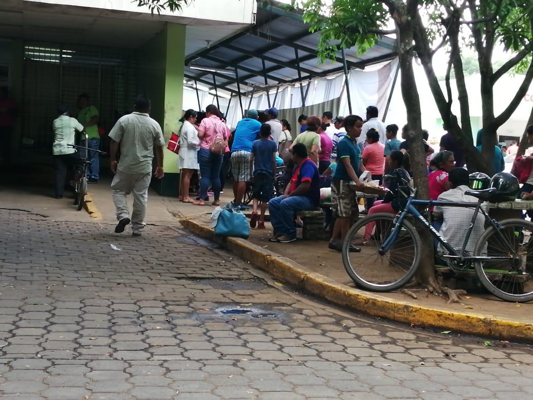 Hospital de Masaya lleno por brotes de dengue. Foto: Noel Miranda/Artículo 66