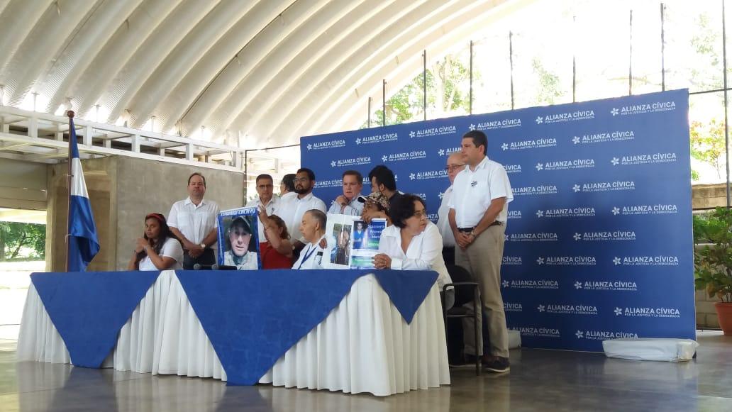 Opositora Alianza Cívica por la Justicia y la Democracia. Foto: María Gómez/Artículo 66