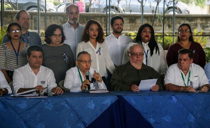 Opositora Alianza Cívica rechaza declaraciones de ortega de no continuar en la mesa de negociación
