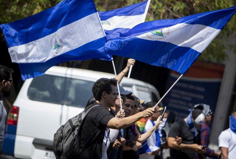 Orden de Ortega será aprovechada por autoconvocados y llenarán las calles de azul y blanco. Foto: Tomada de internet