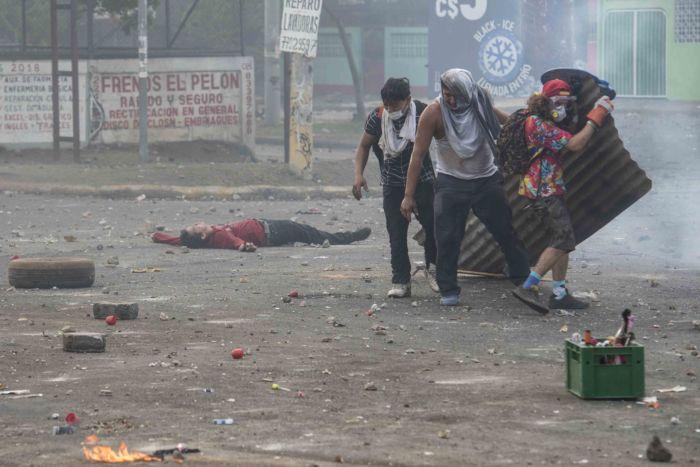 Estallido de la crisis sociopolítica en abril de 2018, cuando Ortega abrió fuego en contra de los ciudadanos desarmados. Foto: La Prensa