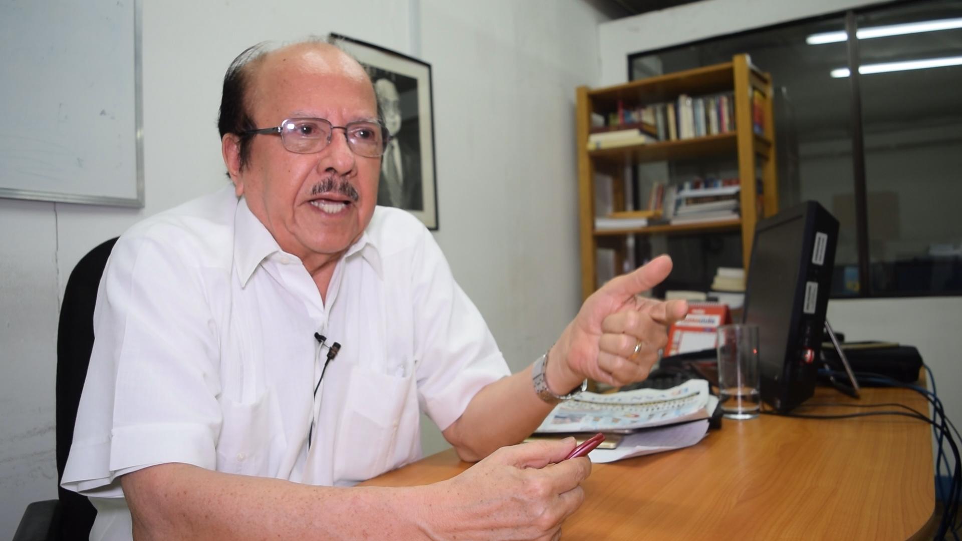 Luis Sánchez Sancho, Editorialista del diario La Prensa
