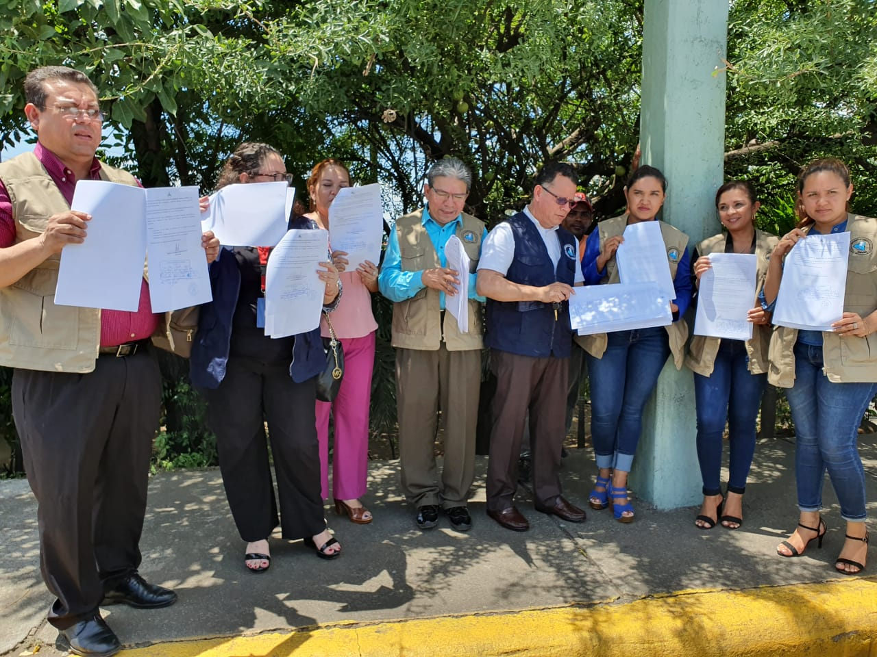 Abogados de la CPDH interponen recurso de inconstitucionalidad contra Ley de Amnistía. Foto: Á. Navarro/Artículo 66
