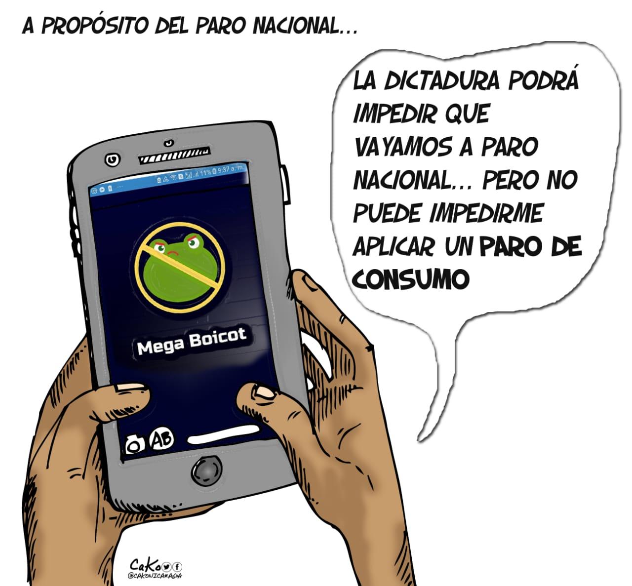 La Caricatura: Megaboicot y paro de consumo