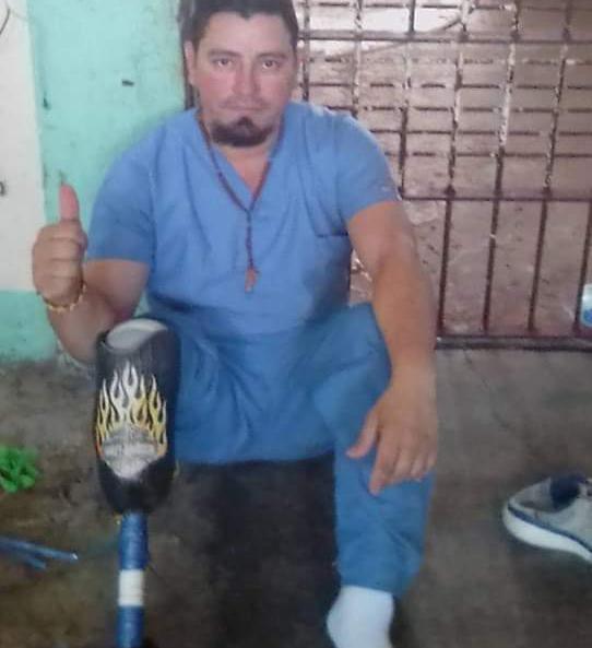 Preso político Pedro Gutiérrez desde la cárcel eleva una oración en memoria de Eddy Montes. Foto: Cortesía