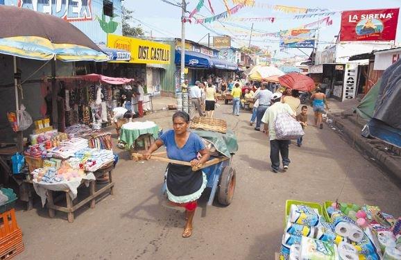 La carestía de alimentos, y el desempleo de los ciudadanos agudizan la situación económica de Nicaragua. Foto: Cortesía