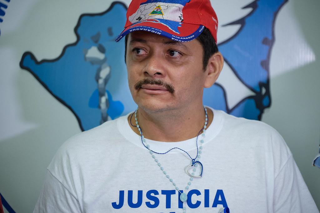 Medardo Mairena, líder campesino y miembro de la Alianza Cívica por la Justicia y la Democracia quien participará en la reunión con la Comisión del Alto Nivel de la OEA. Foto: Tomada de Internet
