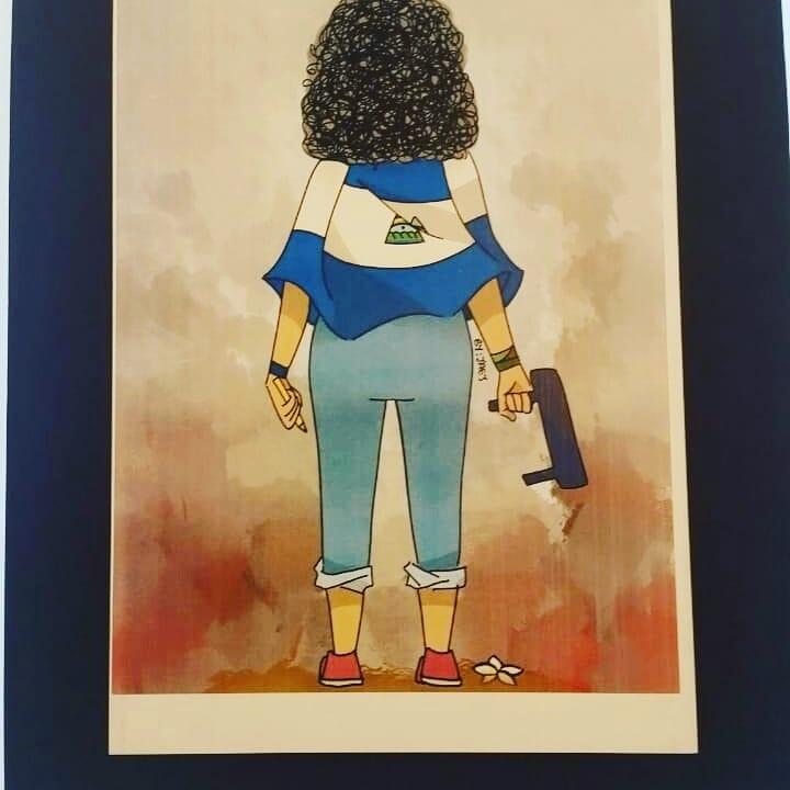 Arte: otra forma de denuncia contra el régimen de Ortega