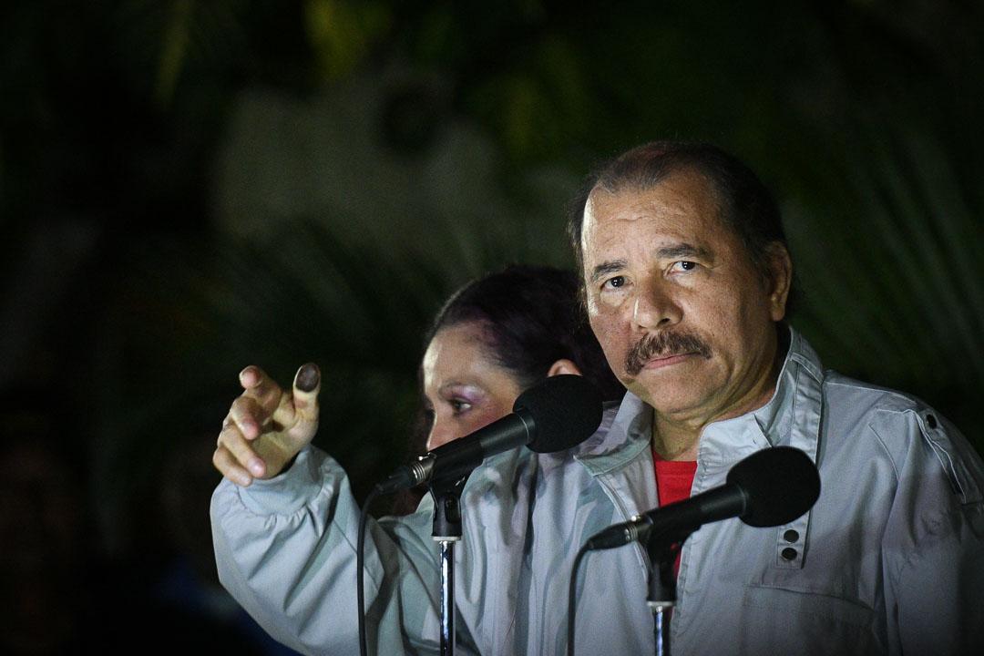 Ortega ha decidido lanzarse contra la OEA en pleno, lo que abrirá el camino para nuevas sanciones, según los analistas. Foto: Carlos Herrera / Confidencial