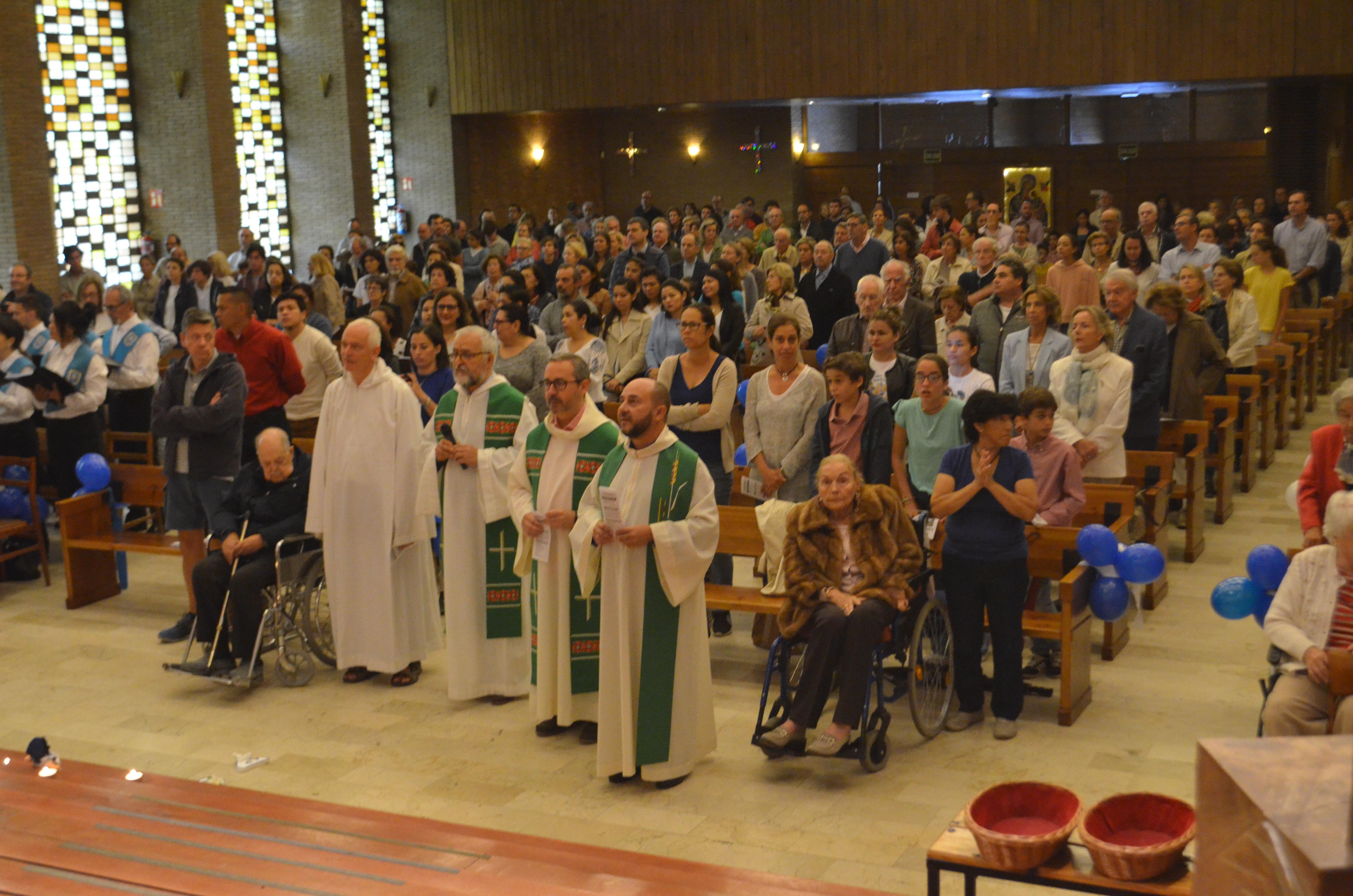 Misa en España por Nicaragua. Foto: Israel Espinoza/Artículo66