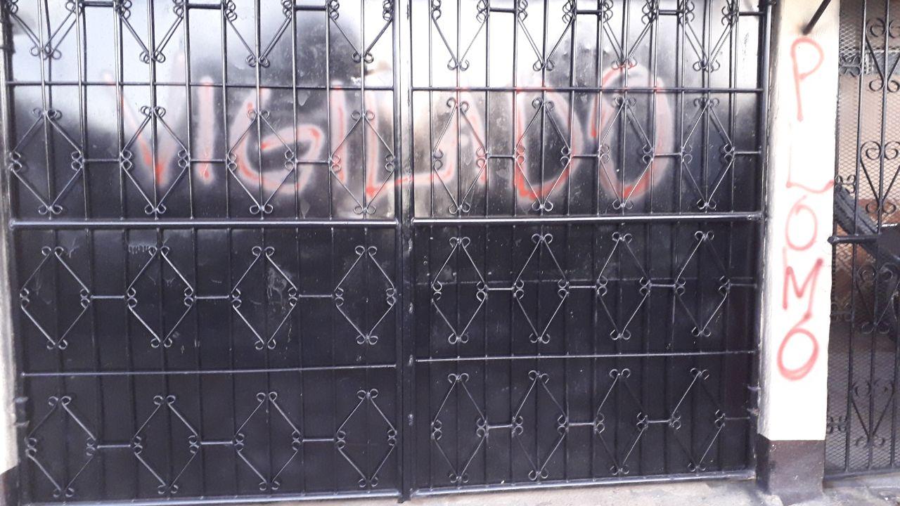 """Orteguistas roban y realizan pintas amenazando con """"plomo"""" a miembros de la Alianza Cívica"""