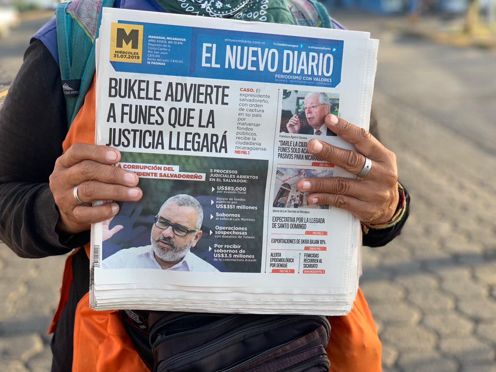 """Cenidh denunciará ante organismos internacionales cierre """"sorpresivo"""" de El Nuevo Diario. Foto: Cortesía"""
