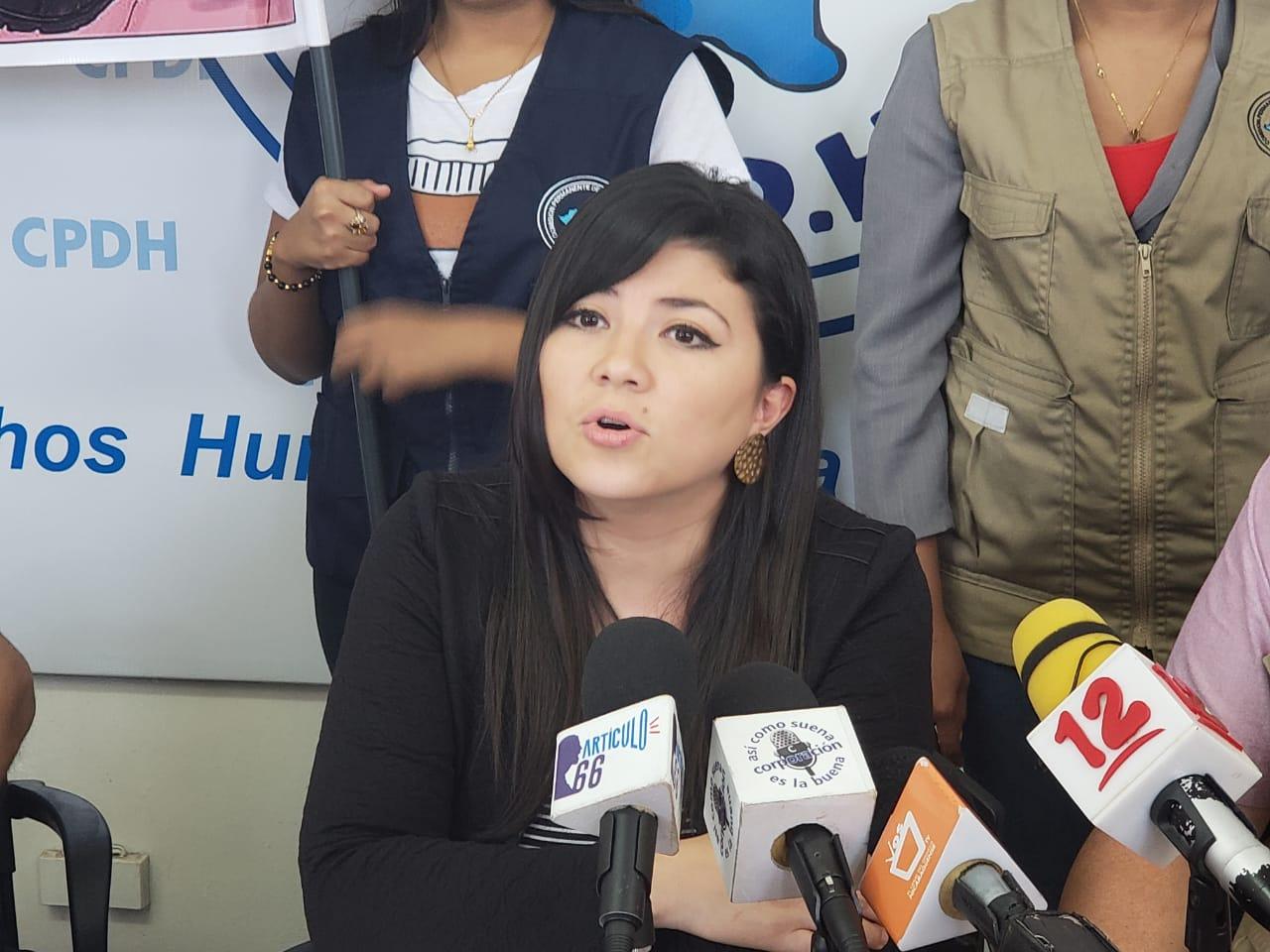 Abogada María Oviedo apelará por la suspensión que le hizo la CSJ . Foto: G. Shiffman / Artículo 66