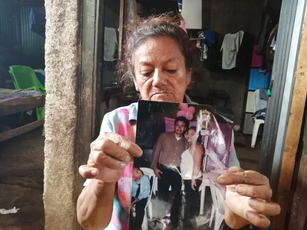 Petrona Rodríguez, de 77 años, madre del excarcelado político. Foto: Artículo 66
