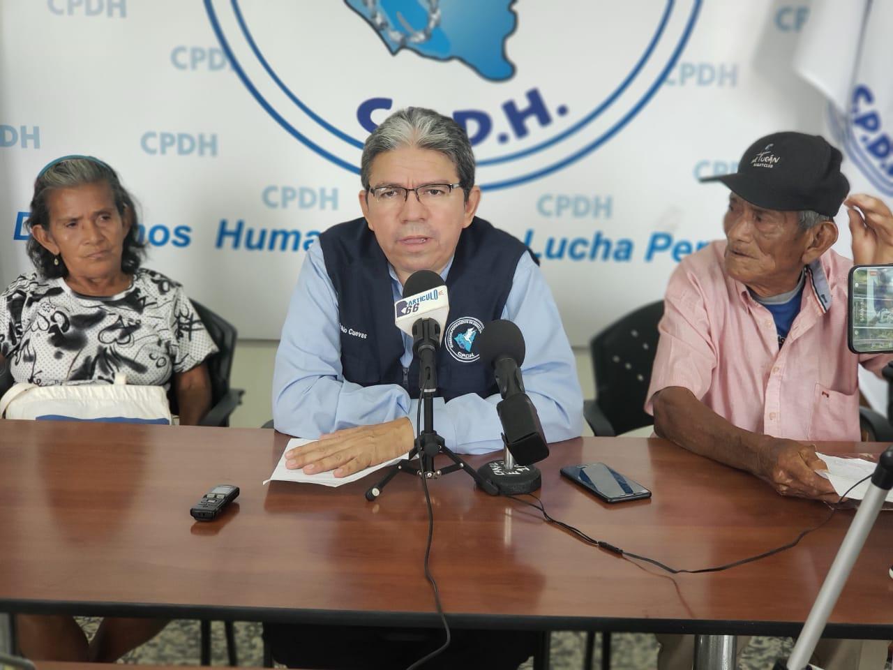 Pablo Cuevas asesor legal de la CPDH. Foto: Geovanny Shiffman/Artículo 66