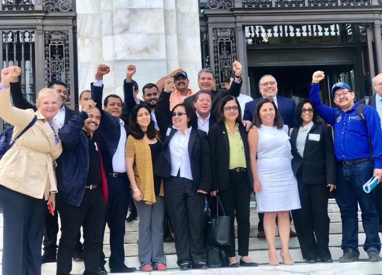 Alianza Cívica y Unab avanzan cabildeo en Washington denunciando acciones represivas del régimen. Foto: Cortesía