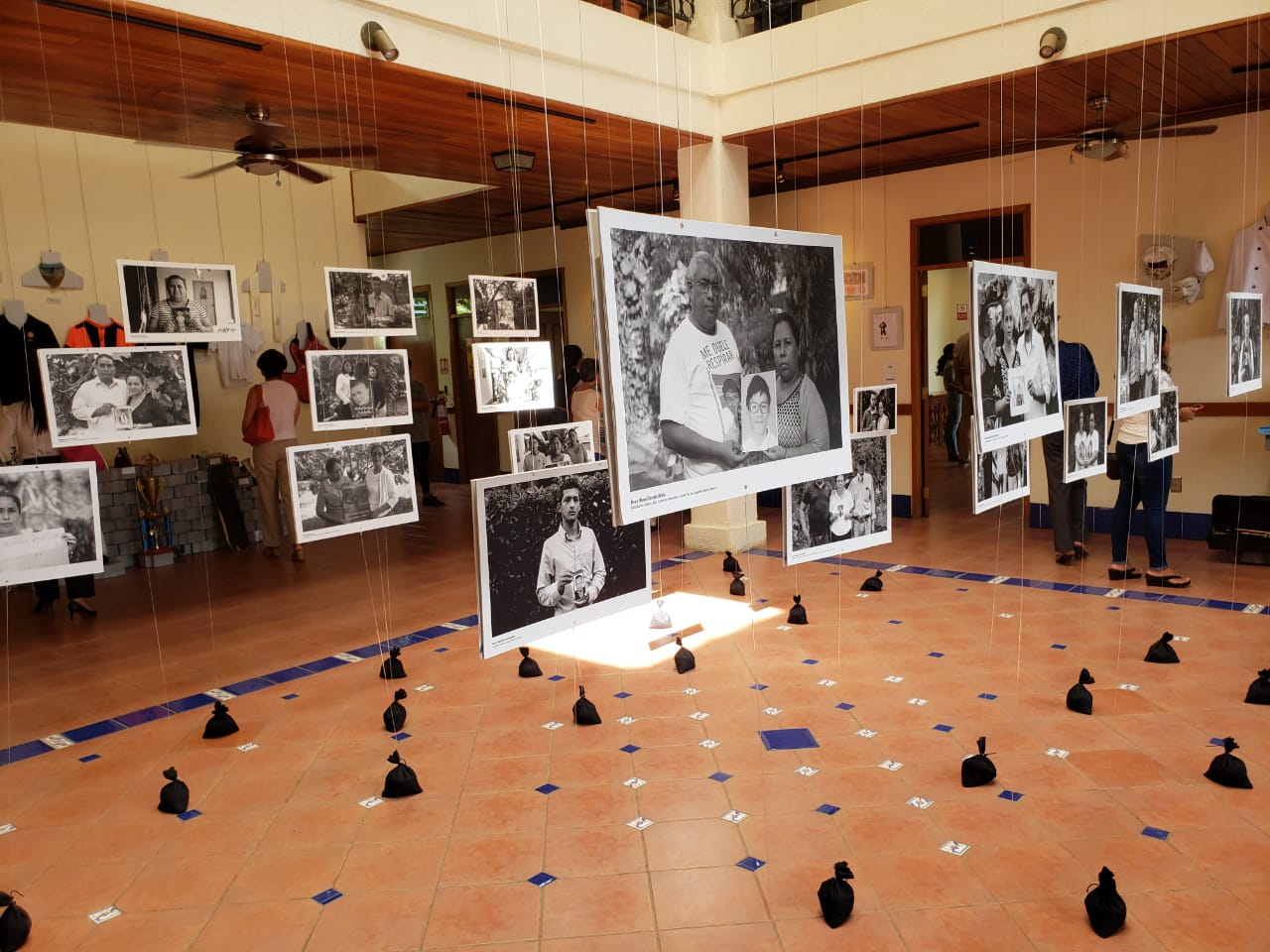 En memoria de los más de 326 asesinados en manos del régimen de Ortega. Foto: G. Shiffman / Artículo 66