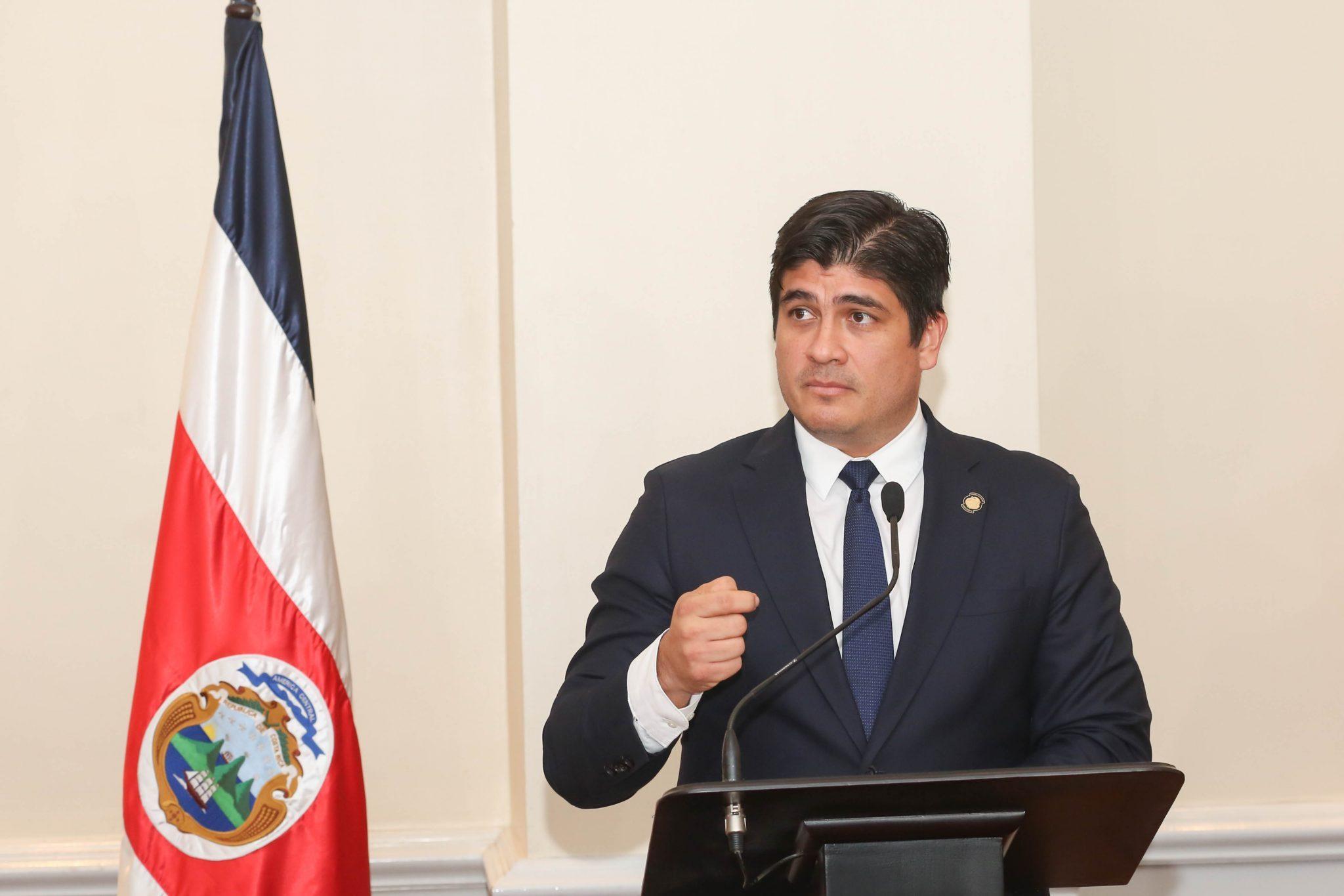 Carlos Alvarado, presidente de Costa Rica. Foto: Cortesía/Presidencia de Costa Rica
