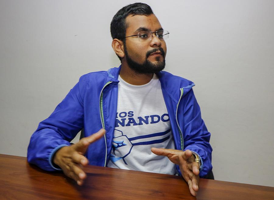 Max Jerez, miembro de la Alianza Cívica por la Justicia y Democracia. Foto: Tomada de Internet
