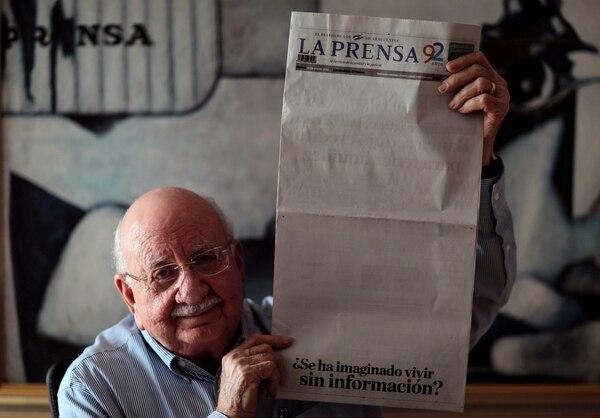 La Prensa se ve obligada a reducir su edición dominical a tamaño tabloide