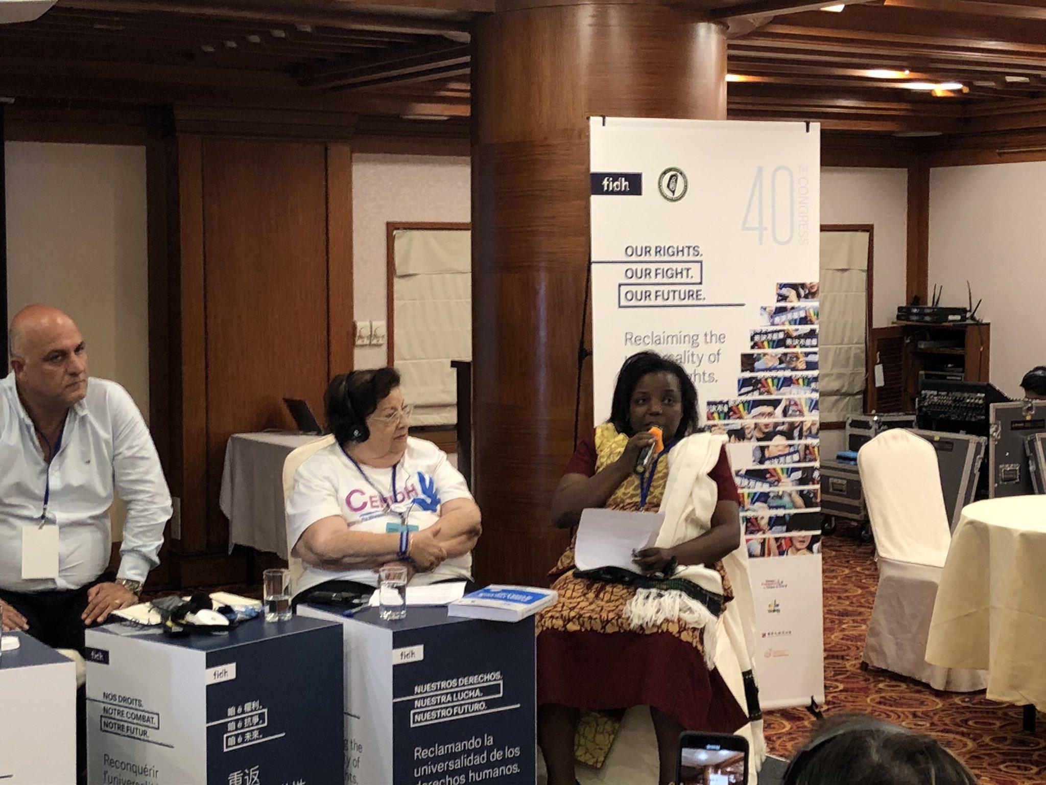 Federación Internacional de Derechos Humanos aprueba resolución a favor de Nicaragua