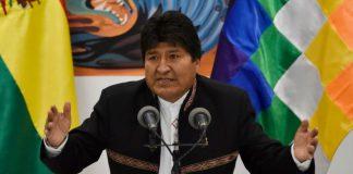 Evo Morales renuncia de su cargo como presidente de Bolivia
