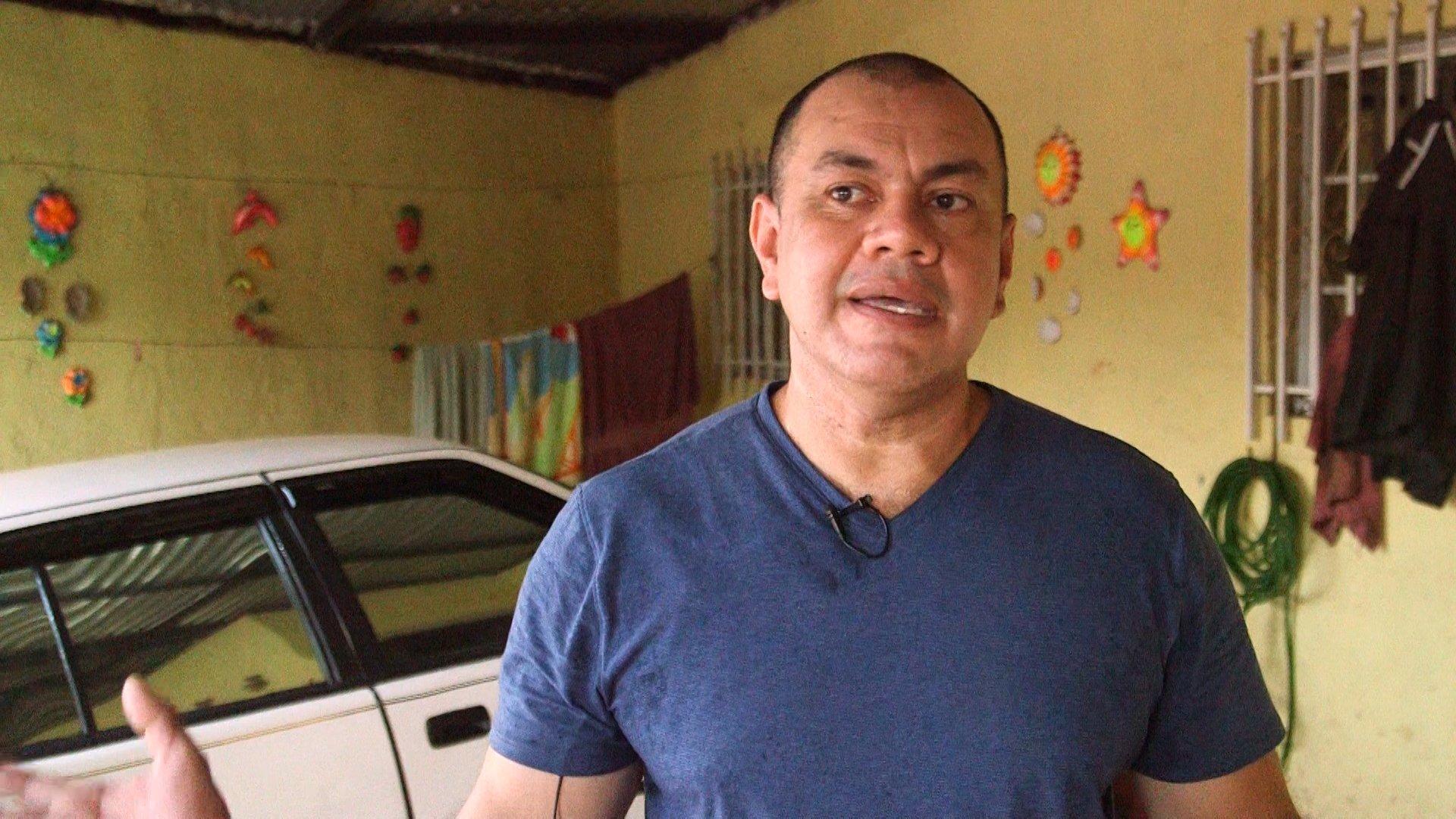 Leddys Valle, habitante del barrio Isaías Gómez