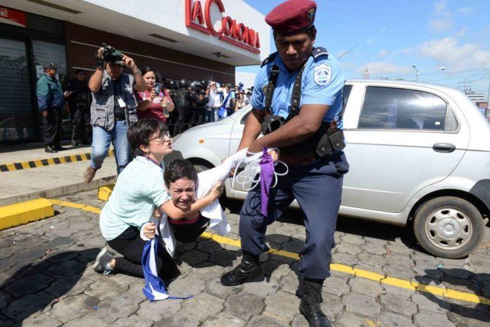 El régimen de Ortega ejerce violencia política a mujeres quienes han participado en protestas en su contra