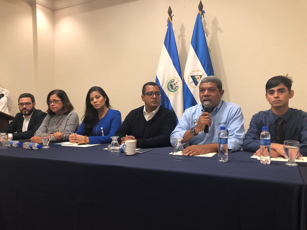 La Comisión de la OEA hace responsable al régimen de Ortega por la seguridad de los Nicaragüenses con quienes se reunieron en El Salvador