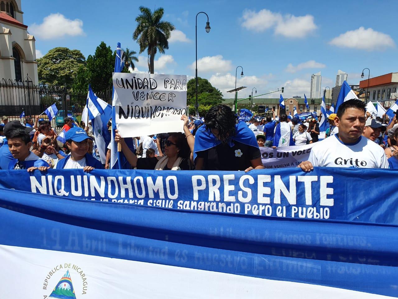 Marcha en San José, Costa Rica. Foto: Artículo66