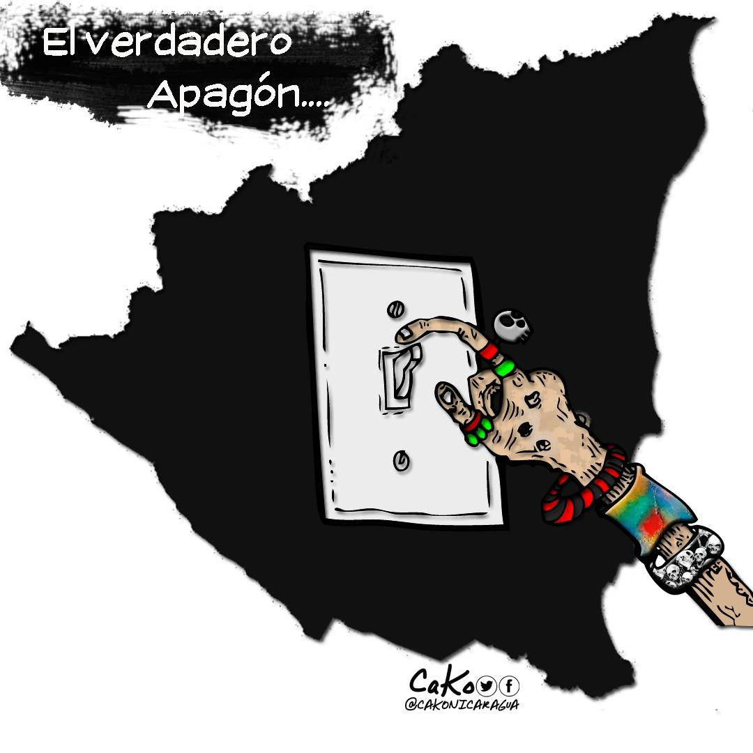 La Caricatura: El verdadero apagón