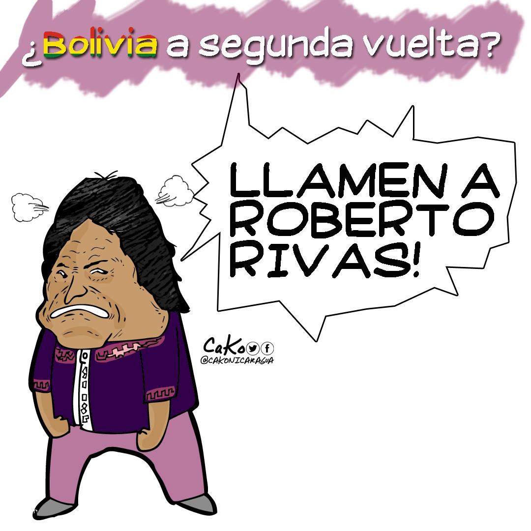 La Caricatura: Bolivia a punto del fraude