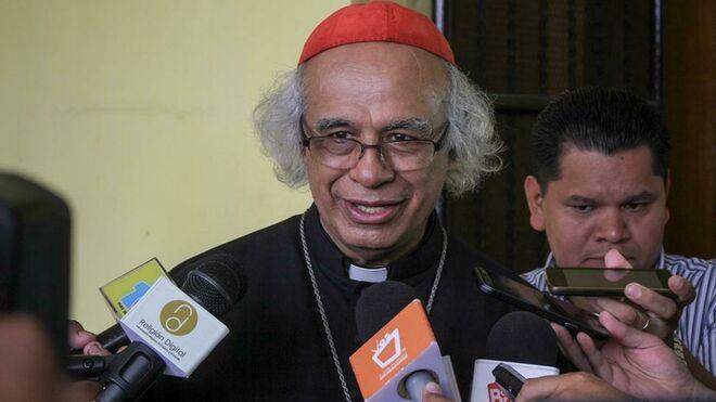 Cardenal Leopoldo Brenes, arzobispo de Managua. Foto/Cortesía: Agencia de noticias ReligionDigital.com de España