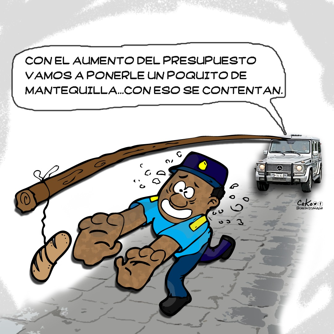 La Caricatura: La leal seguridad de los dictadores