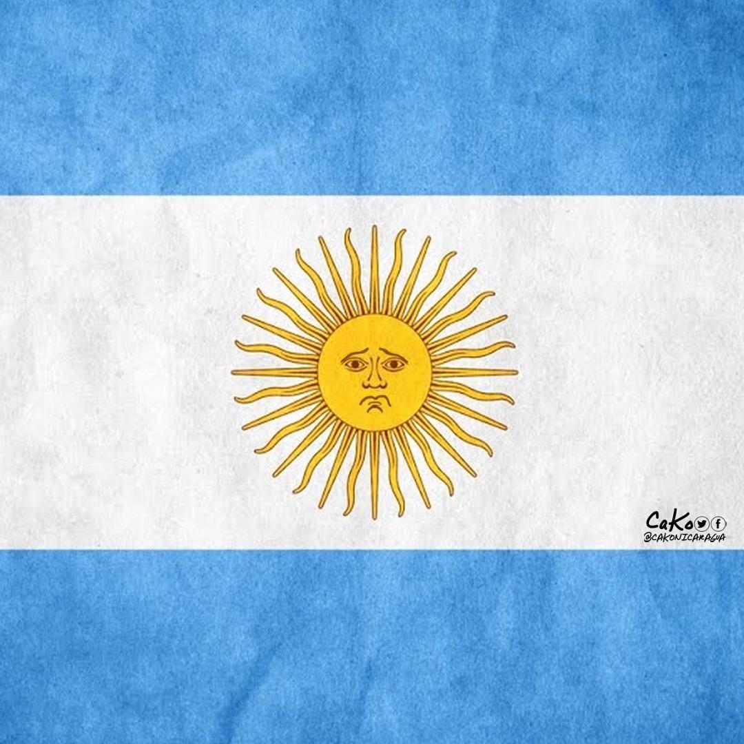 La Caricatura: No llores por mí Argentina