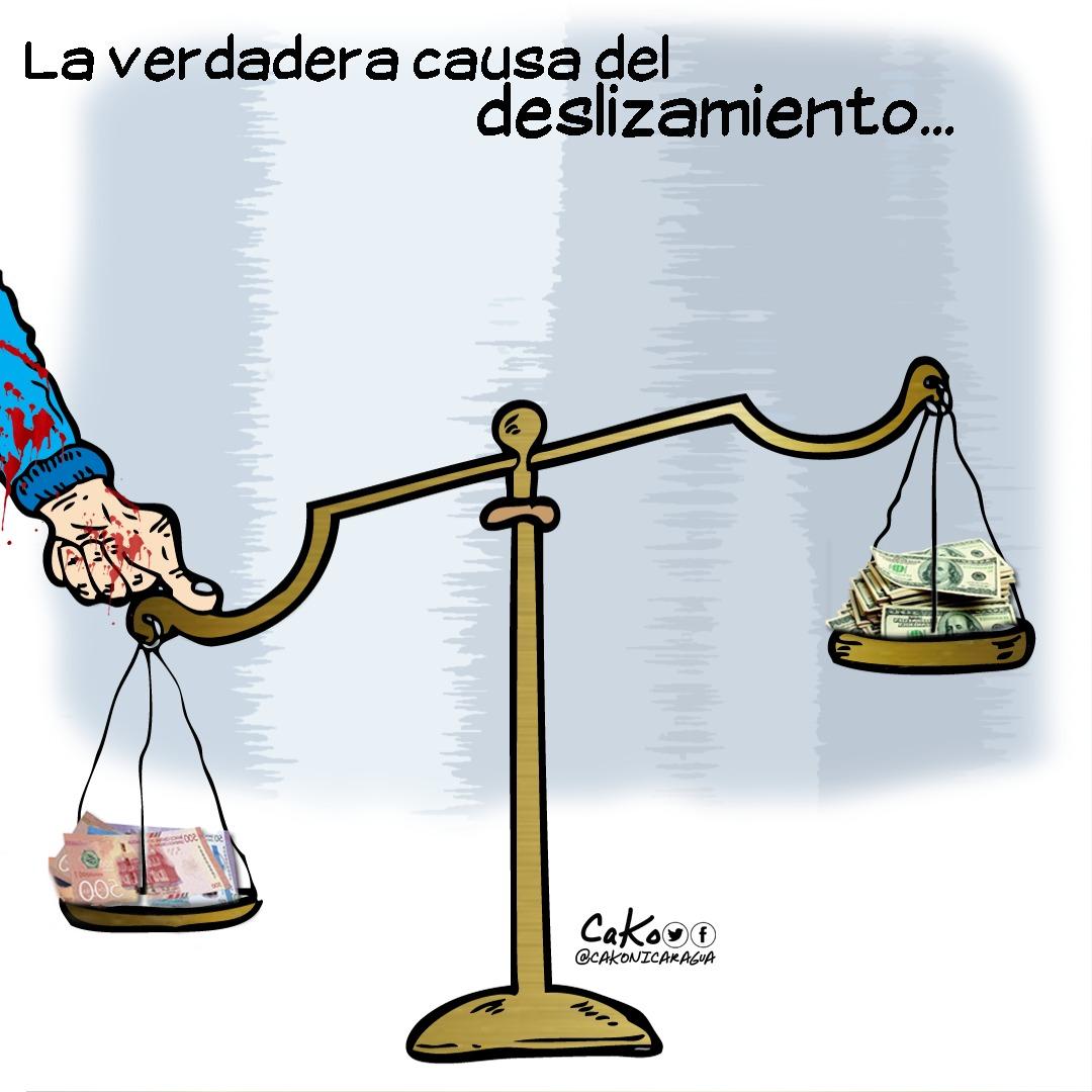 La Caricatura: La balanza de la represión