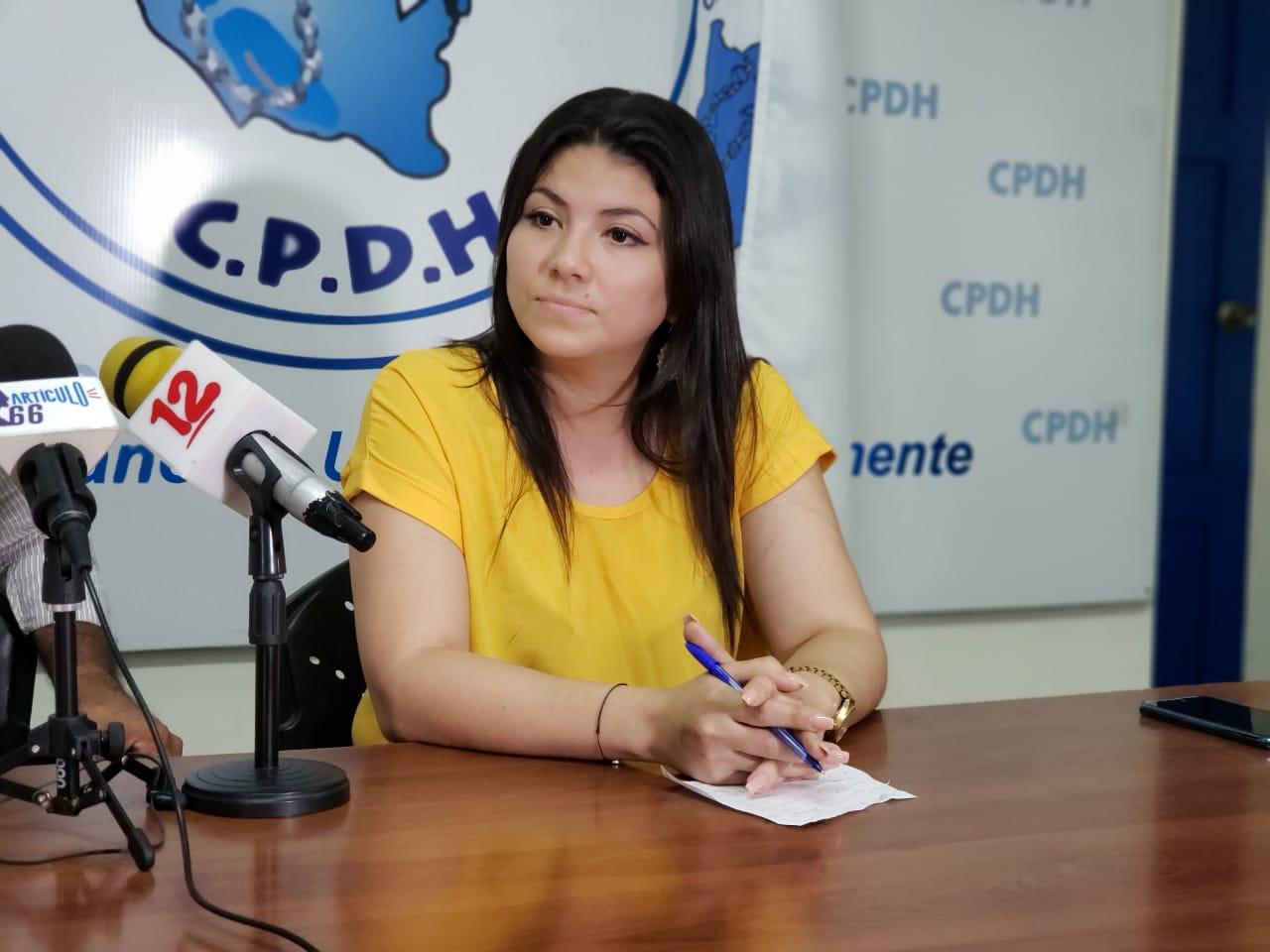 90 días de cárcel para María Oviedo abogada y defensora de DD.HH. Foto: Geovanny Shiffman/Artículo 66